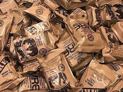 Brand New MREs Meals Ready to Eat Your Choice USA Sterile Clean Emergency