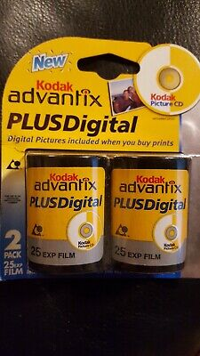 Kodak Advantix Plus Digital Advanced Photo Color Print Film (2 Pack) Exp 3/2006