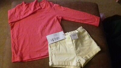 BRAND NEW - BUNDLE OF GIRLS CLOTHES - 2-3 YRS -  MARKS AND SPENCER - box A