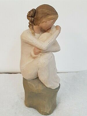 """Willow Tree Figurine """"Guardian"""" Mother & New Baby Signed Susan Lordi 2008"""