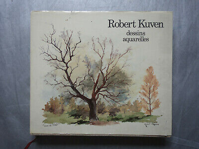 Robert Kuven dessins et aquarelles édition originale 1979 intro François Lotz