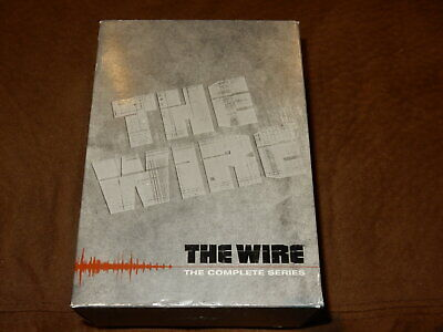 The Wire - The Complete Series (DVD, 2011, 23-Disc Set, Subtitled) SWEET PIECE!