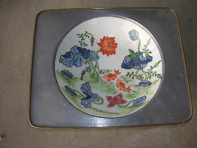 Vintage Decorative Ashtray, Hand Painted