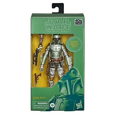 "Star Wars Black Series 6"" Carbonized Boba Fett ESB 40th Anniversary PRE-ORDER"