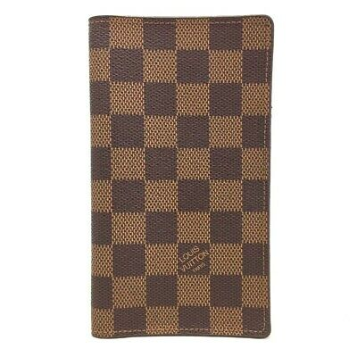 Authentic Louis Vuitton Damier Agenda De Posh Planner Notebook Cover /ee153