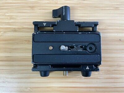 Manfrotto 577 Rapid Connect Adapter with Sliding Mounting Plate (501PL) - GREAT