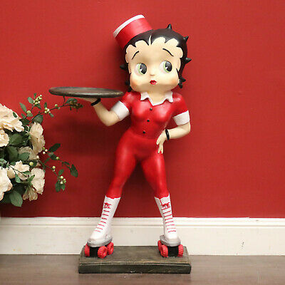 Paramount 2000, Betty Boop Waitress on Roller Skate Statue Large Figure Model
