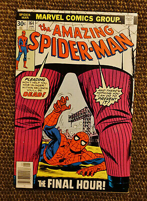 The Amazing Spider-Man #164 (Jan 1977, Marvel 1st Series) Kingpin! VF