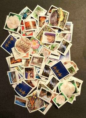 "100+ Canadian Used ""P"" stamps, no cancellation, no gum"