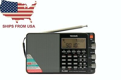 TECSUN PL-880 Triple Conversion Radio + Charger + Extra Battery *Ships from USA*