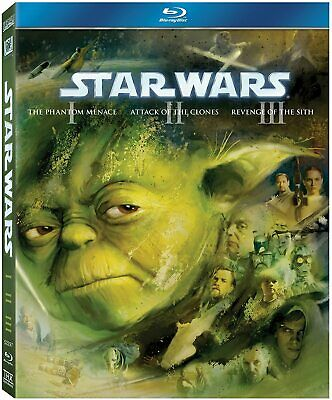 Star Wars: The Prequel Trilogy - Episodes I - III  (Blu-ray)