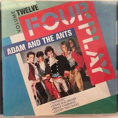 ADAM AND THE ANTS -RARE EP Fourplay 1988 VGC