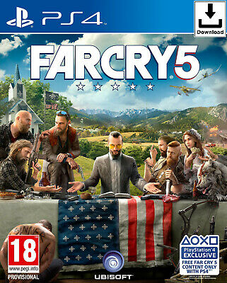 Far Cry 5 - Gold Edition - PS4 📥