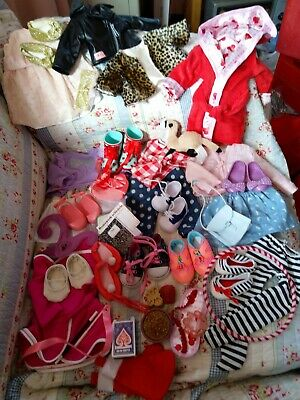 50+pc OG Our Generation DOLL CLOTHES SHOES Battat School Accessories BIG LOT Toy