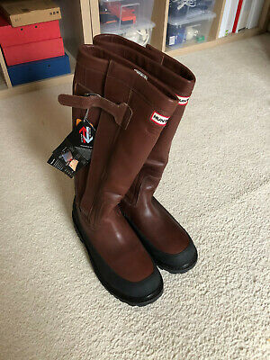 Hunter Crown Leather Boots - New with labels - Mens UK 12