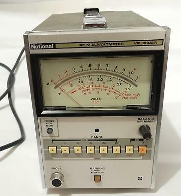 National VP-9602A RF Voltmeter  (Not working)