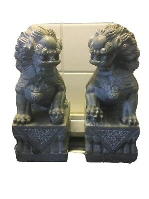 Foo Dogs Soap Stone Original Authentic. Care Instructions: They look After You.