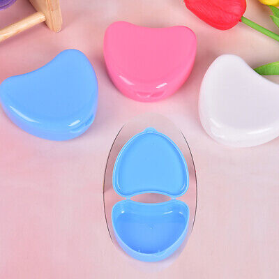 Denture Box Dental False Teeth Storage Case Denture Bath Box Cases AppliancRKUK