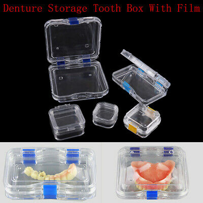 Dental Denture Storage Membrane Tooth Box Case With Film Mouthguard ContaineRKUK