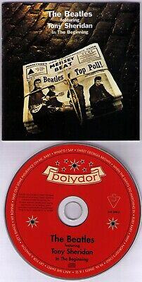 CD - THE BEATLES featuring TONY SHERIDAN In The Beginning - Polydor Germany 2000