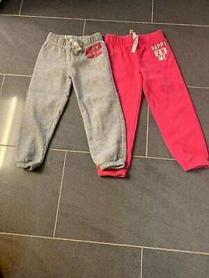 Next Girls X2 Jogging Bottoms Age 5