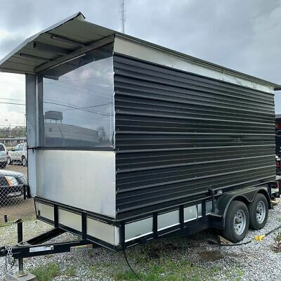 Ready for Service Used Street Food Concession Trailer for Sale in Mississippi! -