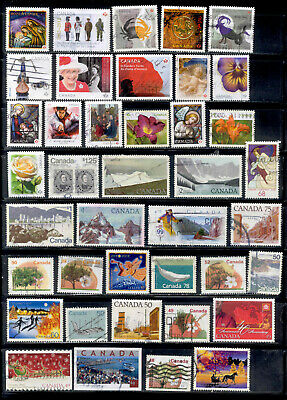 Canada Recent 101 Stamps High Denominations Lot Used