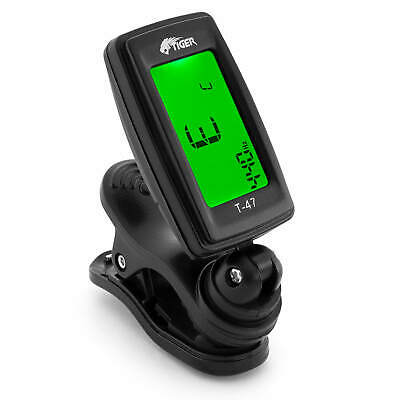 Tiger T-47 Guitar Tuner - Clip On Chromatic Tuner