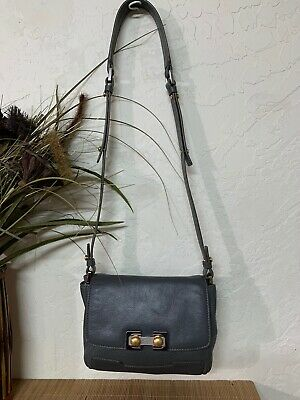 Marc By Marc Jacobs Gray Leather Shoulder Crossbody Purse