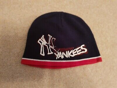 Kids NY Yankees beanie hat (52 cm)