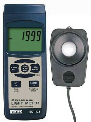 REED SD-1128: Data Logging Light Meter