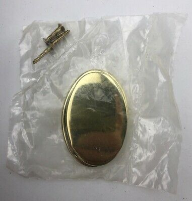 """Baldwin Brass Replacement Key Hole Sliding Cover Oval 2 1/4"""" X 1 5/8"""""""