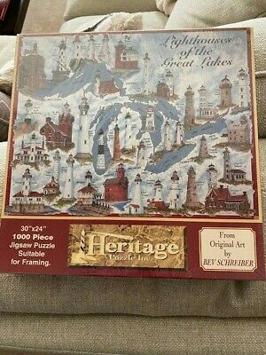 West Quoddy Lighthous Puzzle & Lighthouses Of The Great Lakes Puzzle - Nice