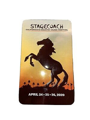 stagecoach 2020 ticket with Shuttle Pass