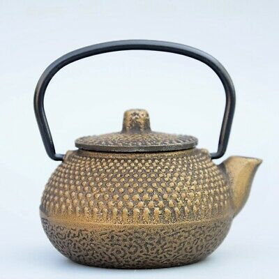 Collectable China Old Bronze Hand-Carved Delicate Unique Decorate Little Tea Pot