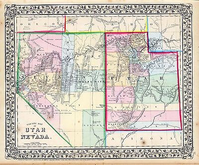 185 old maps NEVADA state PANORAMIC genealogy HISTORY atlas DVD