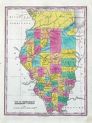219 maps ILLINOIS state PANORAMIC genealogy old HISTORY DVD
