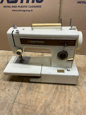 Vintage FRISTER & ROSSMANN 502 Heavy Duty Semi Industrial Sewing Machine A10