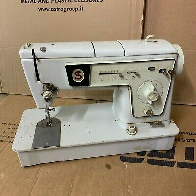 Vintage Singer Stylist 478 Sewing Machine A4