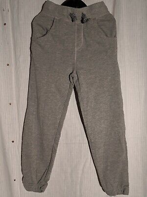 Lilly and Dan Girls Grey Jogging Bottoms 5-6 year