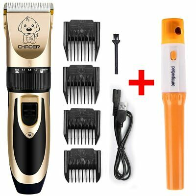 Professional Pet Dog Hair Trimmer Animal Grooming With Electric Nail Clippers