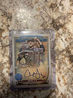 2020 Topps Gypsy Queen Alex Young RC Rookie Auto On-Card