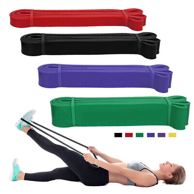 Resistance Bands Power Lifting Exercise Band Yoga Gym Fitness Pull Up Band Latex