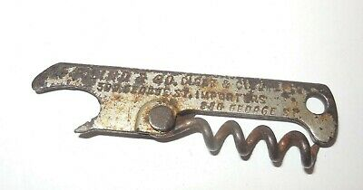 Very early folding cork screw - G F Lind & Co