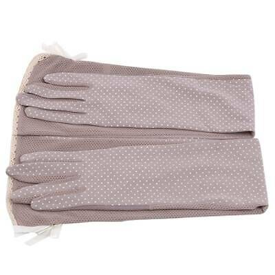 Sunscreen Half Cuff Sunscreen Arm Sleeves Hand Protection Long Gloves N3