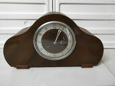 Deceased estate Timber Mantle Enfield Clock Made in England