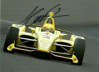 Helio Castroneves Indy Indianapolis 500 winner Penzoil Penske signed photo