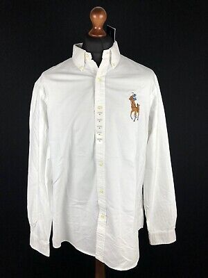 Polo Ralph Lauren Big Pony Long Sleeve Oxford Shirt Size XL Classic Fit