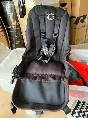 Bugaboo Donkey Replacement Seat Fabric Black 3 Point Harness