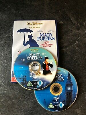 Mary Poppins DVD (2005) 40th Anniversary Edition -2 Disc Special Edition